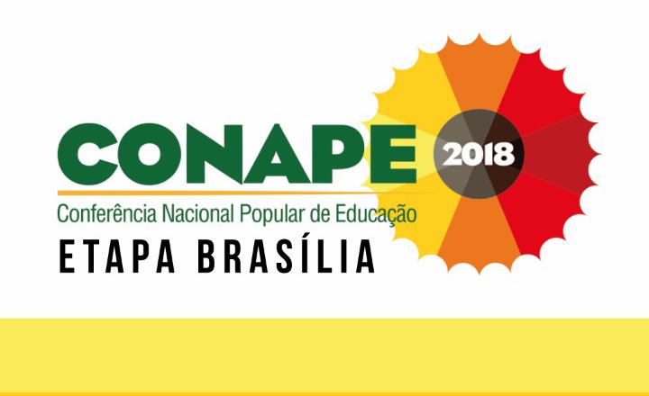 [DF] Fórum Distrital de Educação/FDE convida para o lançamento da CONAPE 2018 – Etapa Brasília
