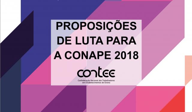Contee lança Cartilha de Proposições e Caderno Orientador para as conferências de educação