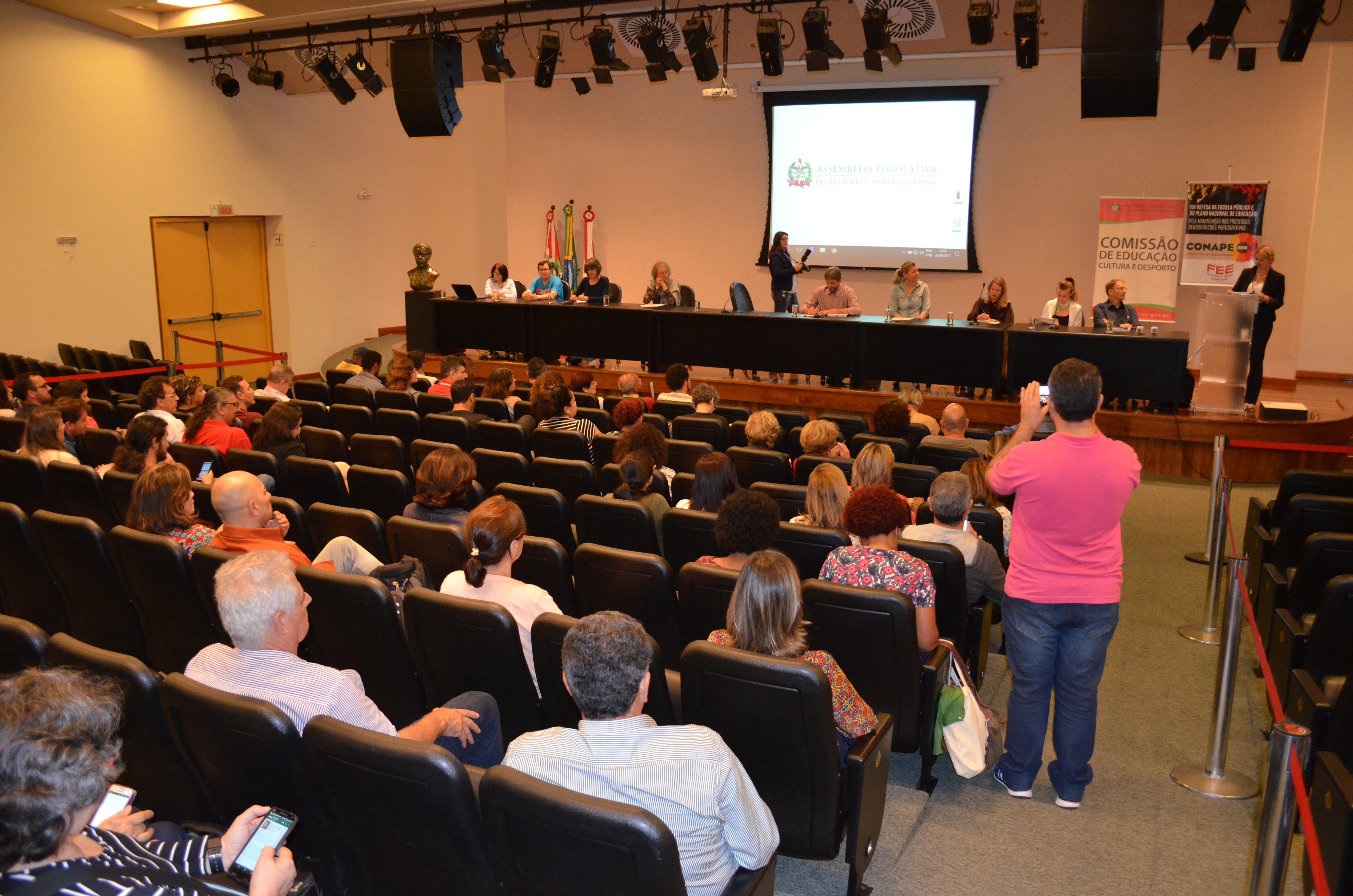 Nota Sinte-SC sobre lançamento da etapa de Santa Catarina da Conape 2018