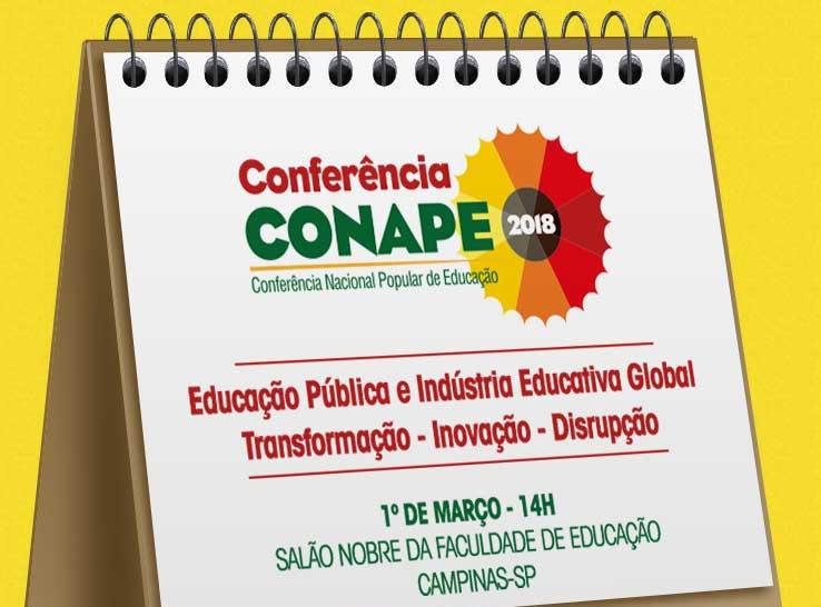 Conferência Conape – Lançamento do VI Seminário de Educação Brasileira – CEDES