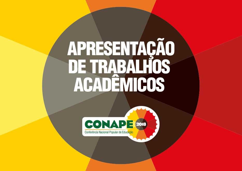 ATENÇÃO: PRORROGAÇÃO da chamada pública para apresentação de trabalhos acadêmicos na CONAPE