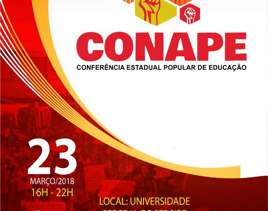[SE] Conferência Estadual Popular de Educação