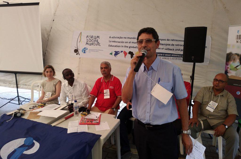 No FSM 2018, entidades debatem a educação em tempos de retrocesso e privatização