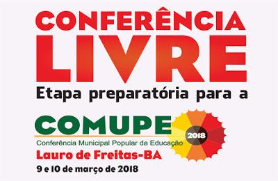 [BA] Conferência Municipal Popular de Educação – Lauro de Freiras