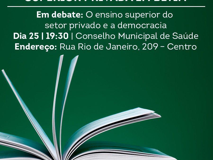[MG] Conferência Livre da Educação Superior Privada em Betim