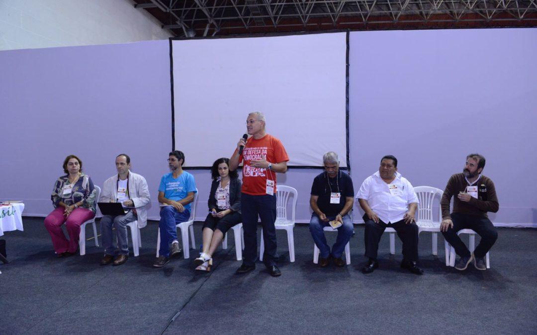 Durante a CONAPE, a CNTE reafirma seu compromisso de combater a privatização e mercantilização da educação pública